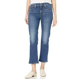 NWT J. Crew High-Rise Cropped Flare Jeans size 36